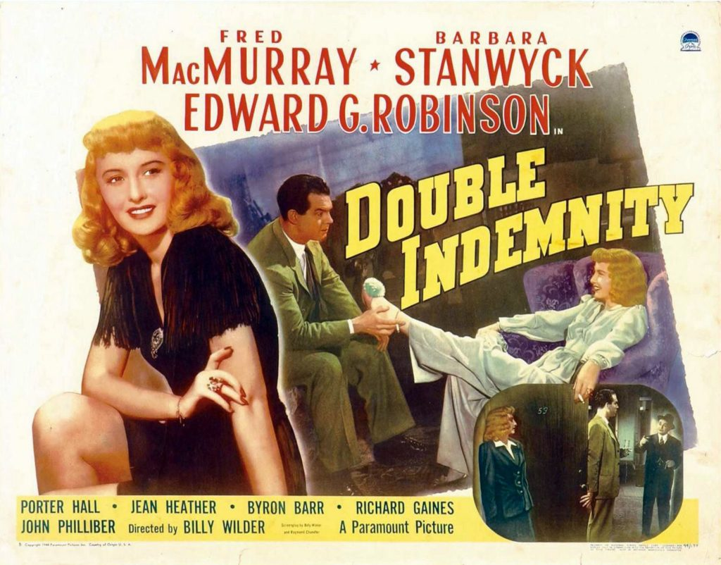 a review of billy wilders 1994 film double indemnity